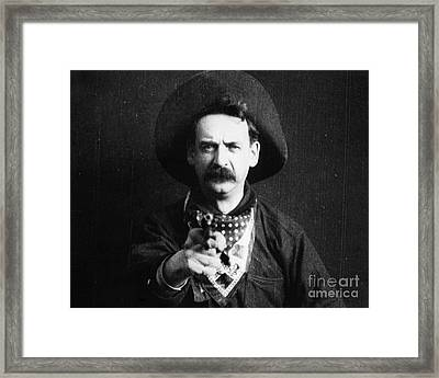 Great Train Robbery 1903 Framed Print by Granger