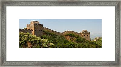 Great Wall Of China, Jinshangling Framed Print by Panoramic Images