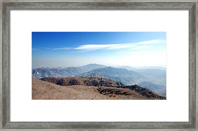 Great Wall Of China - Mutianyu Framed Print by Yew Kwang