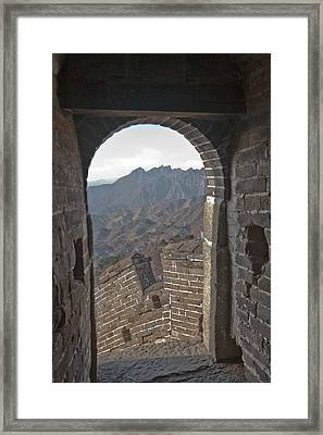Great Wall View Framed Print