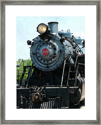 Great Western 90 Framed Print by Susan Savad