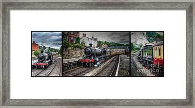 Great Western Locomotive Framed Print by Adrian Evans
