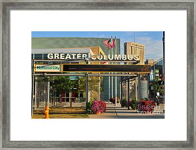 D8l-245 Greater Columbus Convention Center Photo Framed Print