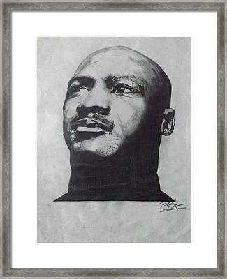 Greatest Framed Print by Joshua Robinson