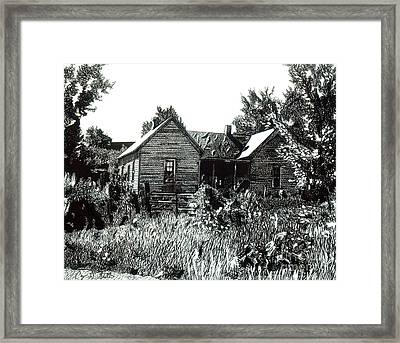 Greatgrandmother's House Framed Print by Cory Still