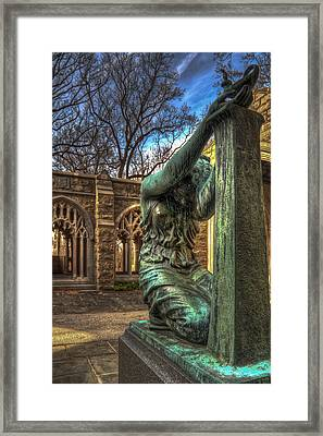 Greaving For Fallen Son Framed Print by Robert Culver