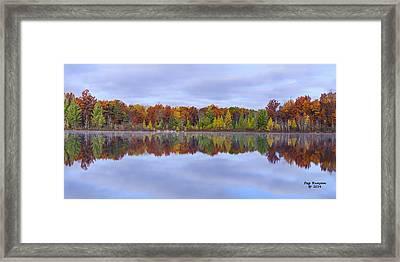 Jewett Lake Framed Print