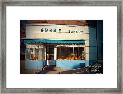 Greb's Bakery Pittsburgh Framed Print