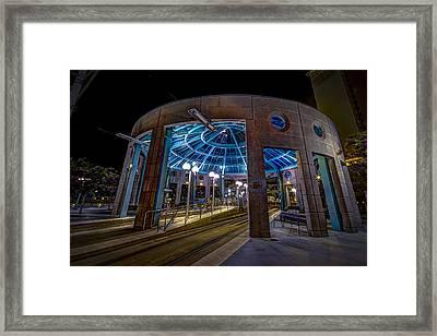Greco Plaza Framed Print by Marvin Spates
