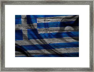 Greece Framed Print by Joe Hamilton