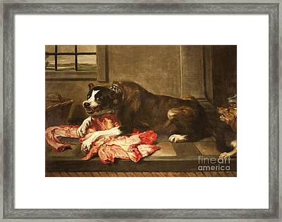 Greed And Avarice Framed Print