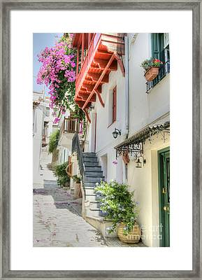 Greek Charm 2 Framed Print by David Birchall