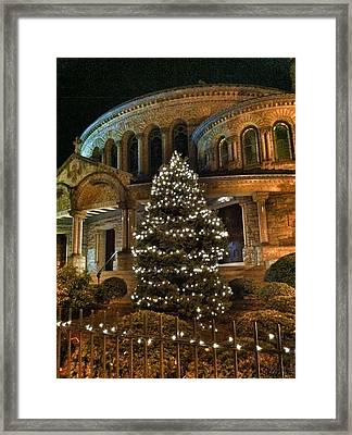 Framed Print featuring the photograph Greek Christmas by Toni Martsoukos