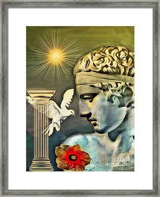 Greek God Framed Print