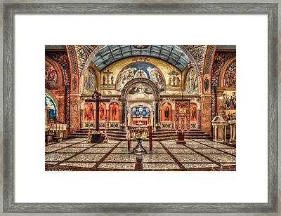 Greek Orthodox Cathedral Of Saint Paul Framed Print