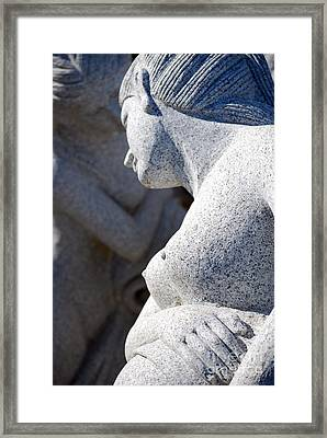Greek Statues Framed Print