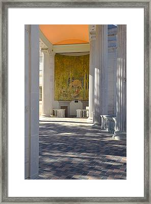 Greek Theatre 1 Framed Print by Angelina Vick