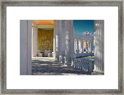 Greek Theatre 2 Framed Print by Angelina Vick