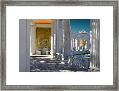 Greek Theatre 2 Framed Print