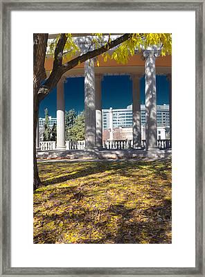 Greek Theatre 4 Framed Print