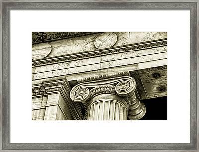 Greek Theatre 6 Golden Age Framed Print