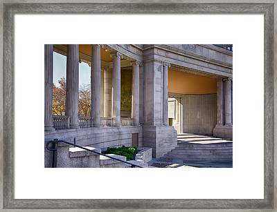 Greek Theatre 7 Framed Print by Angelina Vick