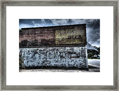 Greeleyville Atlantic Beer Framed Print by Bill Cantey