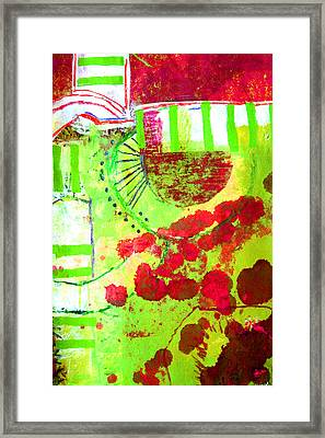 Green 3 Framed Print