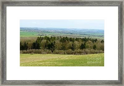 Green And Pleasant Land Framed Print by Julie Koretz