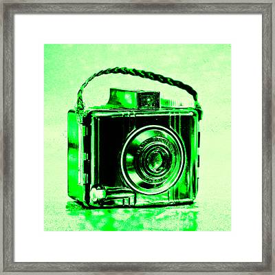 Green Baby Brownie Special Framed Print
