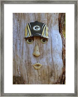 Green Bay Packer Humor Framed Print