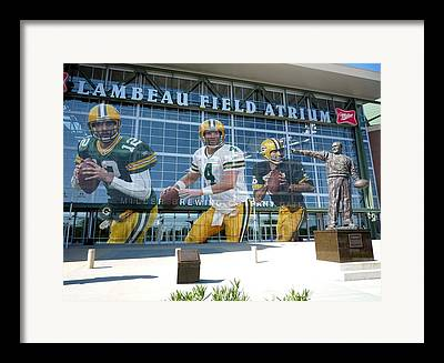 Green Bay Framed Prints