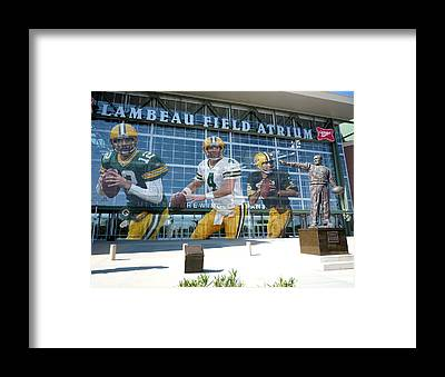 Football Players Framed Prints