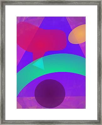 Green Bow Framed Print by Masaaki Kimura