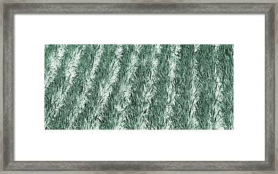 Green Cornfield Framed Print