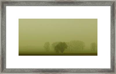 Framed Print featuring the photograph Green Day by Franziskus Pfleghart