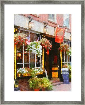 Green Dragon Tavern Framed Print