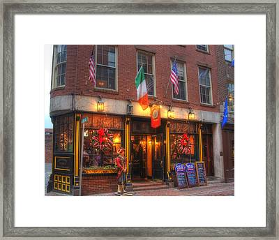 Green Dragon Tavern Framed Print by Joann Vitali