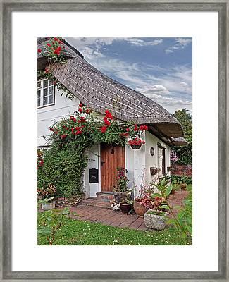 Green End Thatched Cottage Framed Print