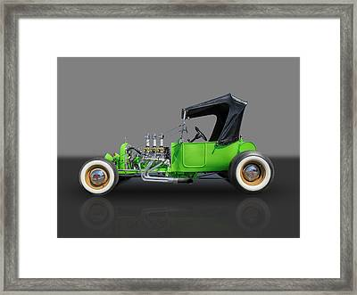1923 Ford T-bucket Framed Print by Frank J Benz