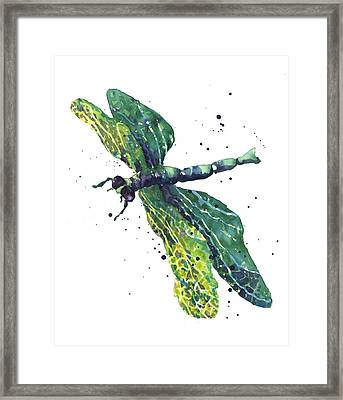 Green Goddess Framed Print
