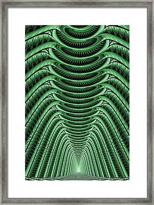 Green Hall Framed Print