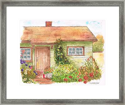 Green House Framed Print by Carlos G Groppa