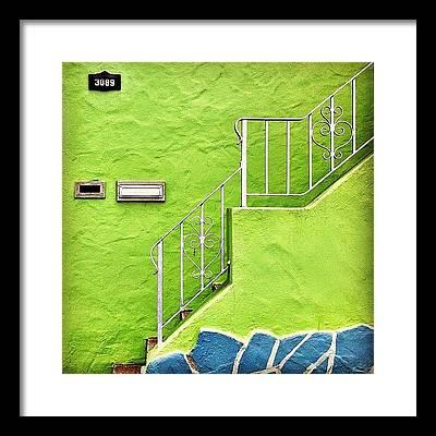 Houses Framed Prints