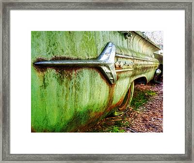 Green Impala Framed Print