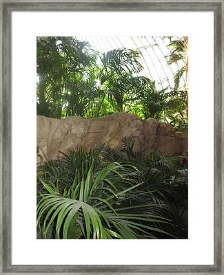 Framed Print featuring the photograph Green Interiors Vegas Casinos Resorts Hotels by Navin Joshi