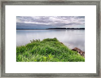 Green Island Framed Print by EXparte SE
