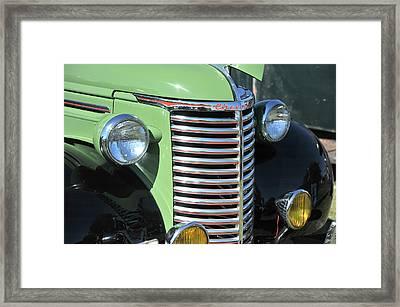 Green Framed Print by Joe Oliver