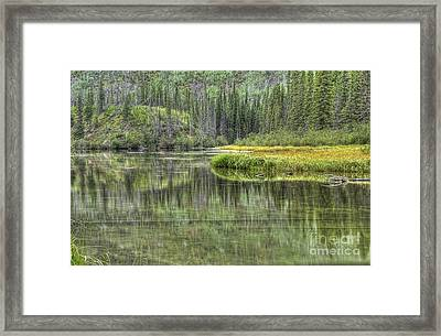 Green Lake Framed Print