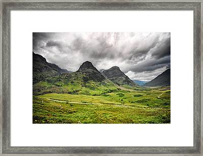 Framed Print featuring the photograph Wuthering Heights by Laura Melis